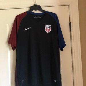 Nike USA soccer shirt